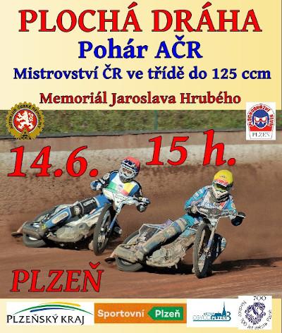 Plakát - Pohár AČR - Plzeň